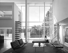 Richard Meier – the collection,rachofsky house,richard meier,donald judd,sculpture,architecture,art,interior design  Pinned by www.modlar.com