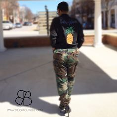 How to Rock this #jacket for a military day look!