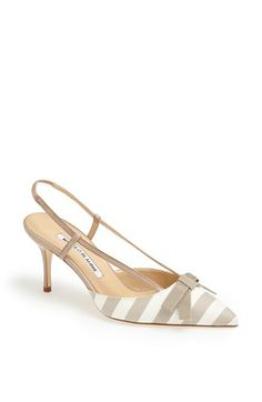 Manolo Blahnik 'Galop' Pump available at #Nordstrom