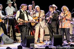 Jerry Douglas with Del McCoury Band and David Grisman | Sonoma State University | photos by Dylan Muhlberg