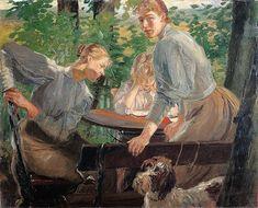 Galerii de arta: Fritz von Uhde(22 mai 1848 – 25 februarie 1911), pictor german
