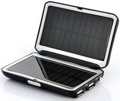Portable-Solar-Charger -- Need this for the Zombie Apocalypse so I can keep all my books on my Kindle