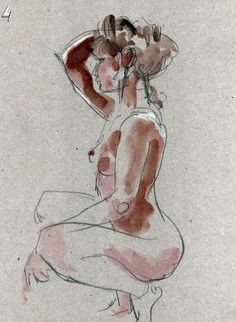 2014 - pencil and watercolor - N. Chauveau