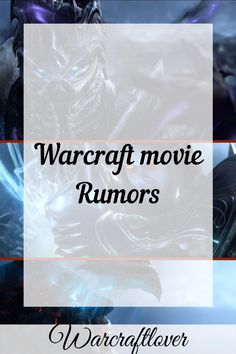 """World of Warcraft movie rumors has been swirling around lately. We got this covered first broke the rumor a week ago. The website reports on entertainment news and gossip. Usually, they claim an """"inside source"""" is giving them exclusive entertainment news. It's a good idea to take any rumor they post with a grain of salt. Warcraft Film, World Of Warcraft Movie, World Of Warcraft Characters, Warcraft Art, Video Game Movies, All Video Games, Movie Fails, Game Room Design, Family Game Night"""