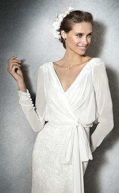 Wedding Dress by Atelier Pronovias