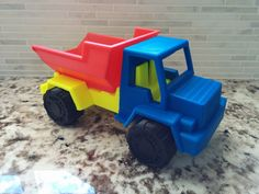 Toy Dump Truck by Willywidget #toysandgames