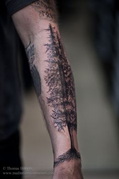 50 Tree Tattoo Ideas For Nature Lovers (12)