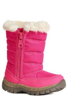 Купить Ярко-розовые зимние сапоги на молнии (Девочки) Купить онлайн прямо сейчас на Next: Украина