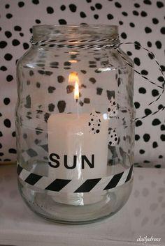 Sun in a jar / Sonne im Glas / Upcycling