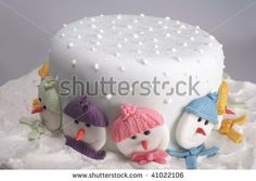 Christmas Cake Decorating Class for at Angel Cakes Off) Christmas Cake Designs, Christmas Cake Decorations, Christmas Cupcakes, Christmas Sweets, Holiday Cakes, Christmas Goodies, Christmas Baking, Christmas Christmas, Xmas Cakes