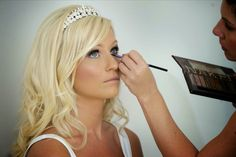 Bride is wearing traditional makeup and Nouveau lashes (all applied by www.kellyhollands.co.uk)