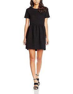 UK 6, Black, Compañia Fantastica Women's Marion Dress NEW