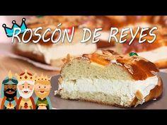Cómo hacer ROSCÓN DE REYES casero | La receta más fácil paso a paso - YouTube Spanish Desserts, Vanilla Cake, Cheesecake, Youtube, Recipes, Food, Christmas, Lolly Cake, Pound Cake