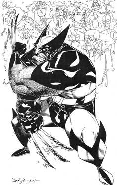 Wolverine and the X-Men by Jason Pearson. Marvel Comic Universe, Marvel Art, Marvel Comics, Comics Universe, Marvel Heroes, Comic Book Artists, Comic Artist, Comic Books Art, X Men