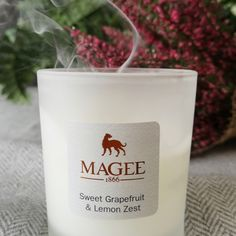 Our candles are made by hand in the Irish countryside from essential oils and natural ingredients. With up to 45 hours of burn time, they make a lovely addition to any home. Scented Candles, Candle Jars, Home Interior Candles, Donegal, Countryside, Diffuser, Home Accessories, Irish, Essential Oils