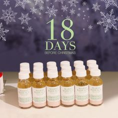 18 days to go before Christmas! Don't let holiday stress take toll on your skin. Always follow a skin care regimen to make you look good throughout the holiday season.