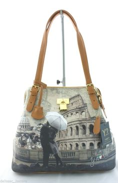 dbe2649e51 Borsa Donna Y NOT Shopping Art C 377 Media New Collection 2014 2015 Colosseo