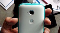 Motorola Moto E 2nd gen hands on, preview - design