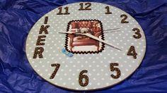 Las ideas de Yoli: Reloj infantil para Iker.