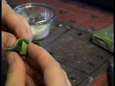 How to Make Lettuce or Cabbage from Polymer Clay for Miniature Dollhouse...