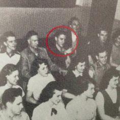 Elvis in L. C. Humes high school. #ElvisSerendipity #Elvis #Presley Elvis Presley the King of Rock and Roll