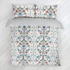 Carolyn Donnelly Eclectic Blossom Duvet Set Duvet Sets, King Size, Bed Pillows, Pillow Cases, Contrast, Colours, Blanket, The Originals, Bedroom