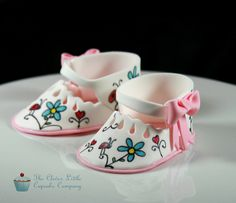 Sugar Baby Shoes by The Clever Little Cupcake Company (Amanda), via Flickr