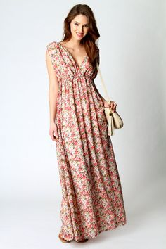 Maxi dresses with sleeves for weddings with sleeves for Boohoo dresses for weddings