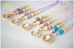 Parenting Healthy: Giveaway: Little Sunshine Boutique Teething Toys and Necklaces