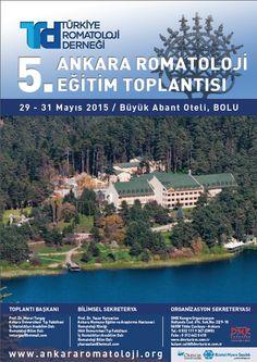 5. Ankara Romatoloji Eğitim Toplantısı: http://www.tumkongreler.com/kongre/5-ankara-romatoloji-egitim-toplantisi #rheumatology #abant #bolu