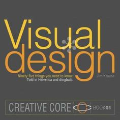Visual Design speaks design, through design, to designers, presenting 95 core design principles with concise text and a touch of visual wit. Author of the bestselling Index series on design basics, Ji