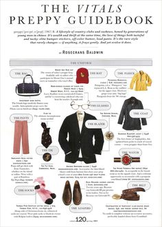 This is 2005, but still a good guide to Prep style.