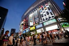 No trip to Akihabara is complete without an adventure through Yodabashi Akiba, shown here.