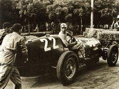 Tazio Nuvolari, Alfa Romeo - Italian GP, Montenero (1937)