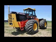 Restored 1982 Versatile 1150 4WD Tractor Sold on Iowa Collector Auction Today - YouTube