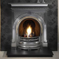 Gallery Celtic Cast Iron Fireplace
