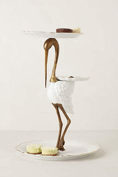 Tiered Crane Sculpture - anthropologie.com