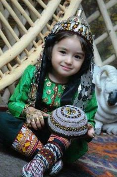 Turkmen child