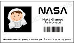 astronaut name tags page 4 pics about space. Black Bedroom Furniture Sets. Home Design Ideas