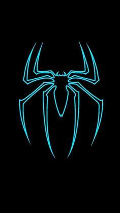 Black Spiderman, Spiderman Art, Amazing Spiderman, Spiderman Suits, Phone Wallpaper For Men, Avengers Wallpaper, Marvel Heroes, Marvel Comics, Marvel Venom