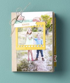Using envelopes to make a mini album? Mom will be so impressed! #MadeForMom