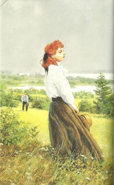 By Ben Stahl - anne of the island Anne Of The Island, Gilbert And Anne, Anne White, Flora Und Fauna, Anne With An E, Anne Shirley, Old World, Cover Art, Vintage Art