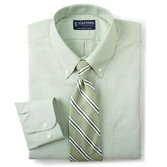 Stafford® Essentials Athletic-Fit Oxford Dress Shirt - jcpenney
