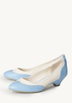 Ida Indie Heels In Light Blue at #Ruche @shopruche