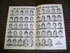 DAYTONA-BEACH JAI ALAI 25TH ANNIVERSARY 1984 W/TICKET   #138399387
