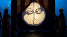 "Puppetry Instructors | Shadow puppetry and dancers in Linda's "" Polly & The Moon"" at the ..."