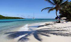 Petites Antilles: une croisière en voilier - Escale sur une plage blanche de Tobago Cays, Grenadines.  Photo Sarah Bergeron-Ouellet / Agence QMI