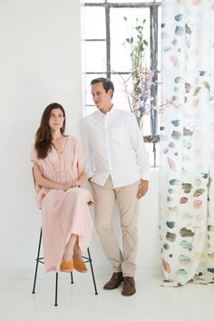 This Husband and Wife Design Duo Just Created a Gorgeous Textile Collection on domino.com