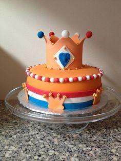 Koningsdag taart