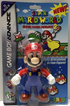 (TAS033701) - 2002 Nintendo Gameboy Advance Super Mario World Advance 2 - Mario